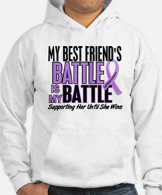 My Battle Too Hodgkin's Lymphoma Hoodie