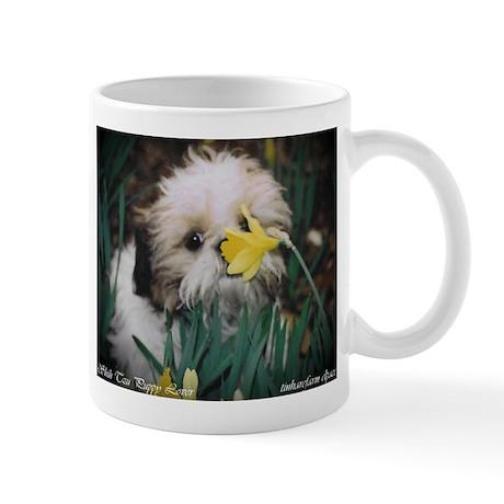Shih Tzu Puppy Mug, dog and puppy lovers