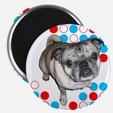 Mod Pug Magnet