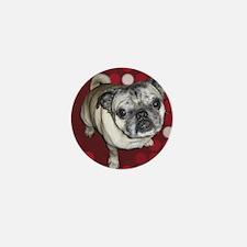 Mod Pug Mini Button