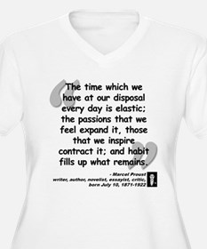 Proust Time Quote T-Shirt