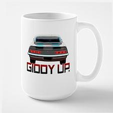 Camaro - Giddy Up Large Mug