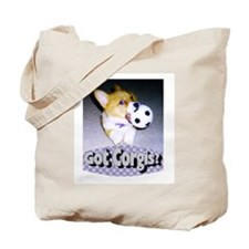 "Welsh Corgi ""Got Corgis?"" Tote Bag"