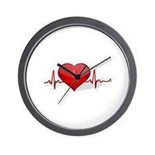 heart beat Wall Clock