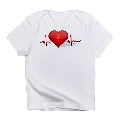 heart beat Infant T-Shirt