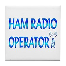 Ham Radio Tile Coaster