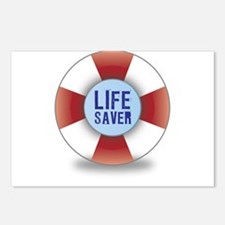 Life saver Postcards (Package of 8)