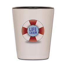 Life saver Shot Glass