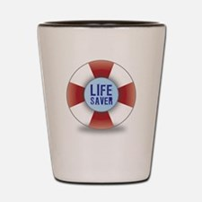 Life saver Shot Glass