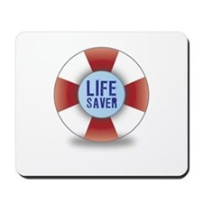 Life saver Mousepad