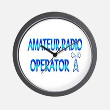 Amateur Radio Wall Clock