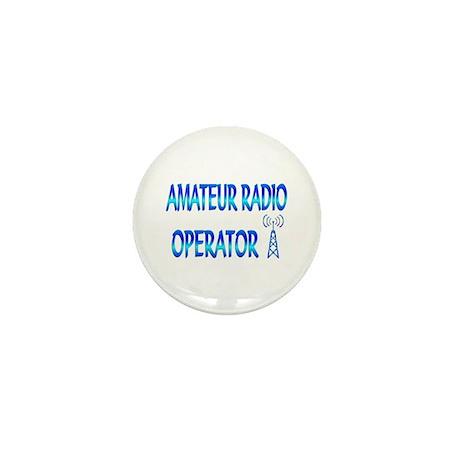Amateur Radio Mini Button