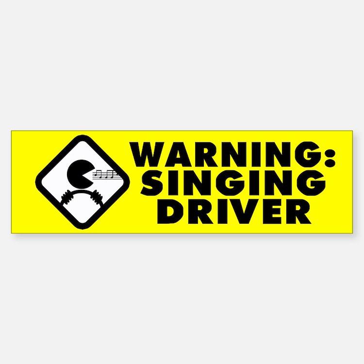 Karaoke Therapy Bumper Bumper Bumper Sticker