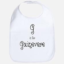 G Is For Guinevere Bib