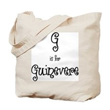 G Is For Guinevere Tote Bag