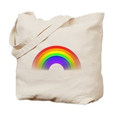 Faded Rainbow Tote Bag
