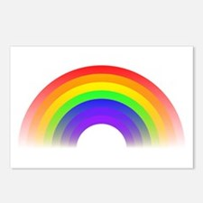 Faded Rainbow Postcards (Package of 8)