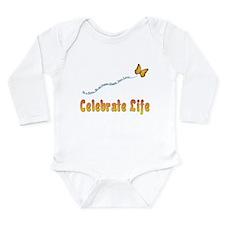 Celebrate Life Long Sleeve Infant Bodysuit