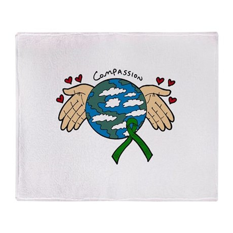 Organ Donation Organ Donation Throw Blanket