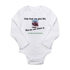Sharing Life Long Sleeve Infant Bodysuit