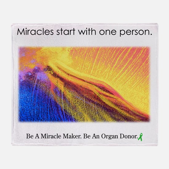 One Person Miracle Throw Blanket