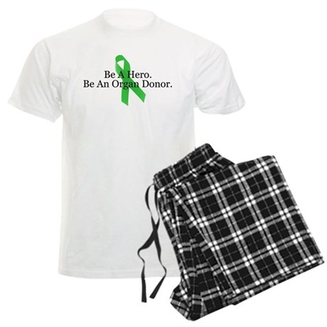 Bold Organ Donor Men's Light Pajamas
