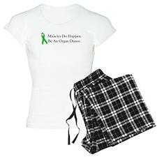Green Ribbon Miracle Pajamas