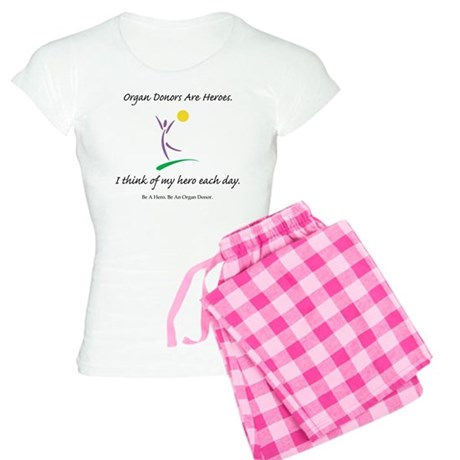 Inside-Out Donor Thanks Women's Light Pajamas