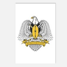 South Sudan Coat of Arms Postcards (Package of 8)