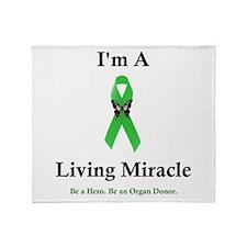 Living Miracle Throw Blanket