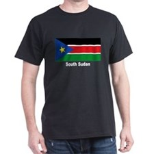 South Sudan Flag (Front) T-Shirt