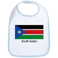 South Sudan Flag Bib