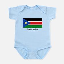 South Sudan Flag Infant Bodysuit