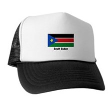 South Sudan Flag Trucker Hat