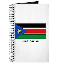 South Sudan Flag Journal