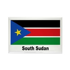 South Sudan Flag Rectangle Magnet