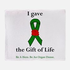 I Donor Throw Blanket
