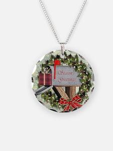 Season's Greetings Postb Necklace