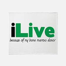 iLive Bone Marrow Throw Blanket