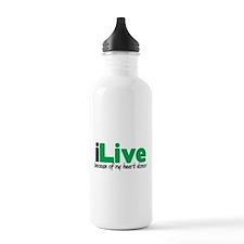 iLive Heart Water Bottle