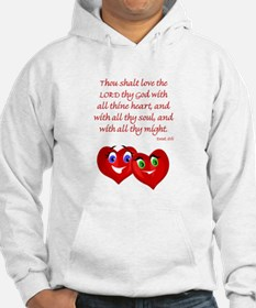 Hearts for God Hoodie