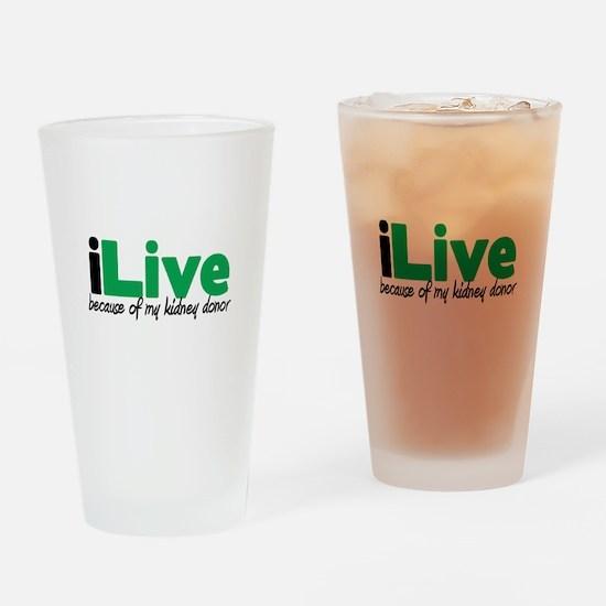 iLive Kidney Pint Glass
