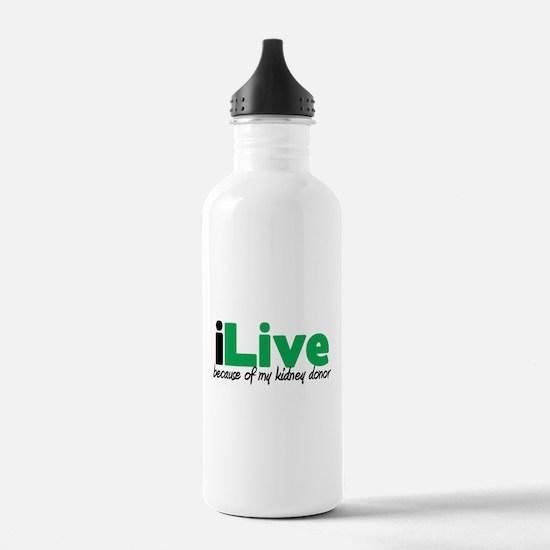 iLive Kidney Water Bottle