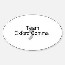 Team OxfordComma Decal