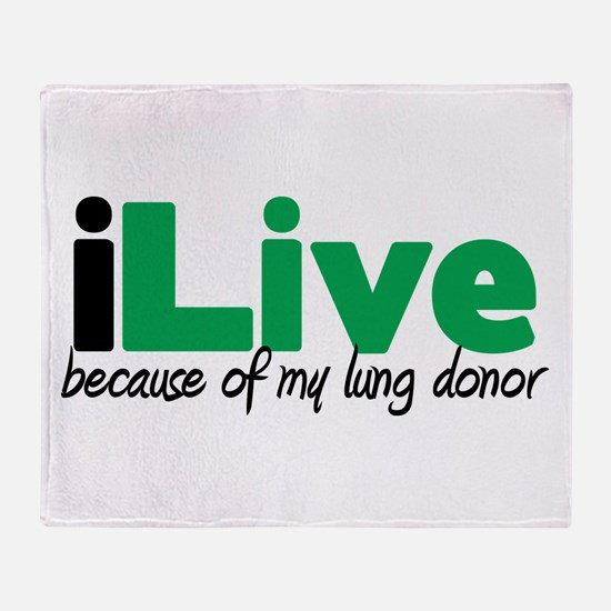 iLive Lung Throw Blanket