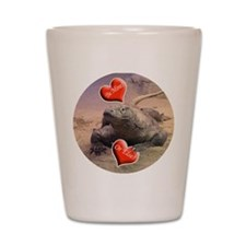 Helaine's Komodo Dragon Valen Shot Glass