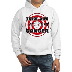 Take Aim - Lung Cancer Hoodie