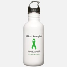 Heart Transplant Survivor Water Bottle