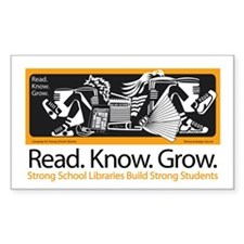 Students Read.Know.Grow. Decal