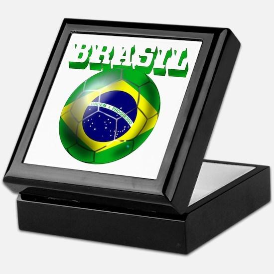 Brasil Football Keepsake Box